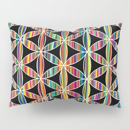Flower of Life Colored | Kids Room | Delight Pillow Sham