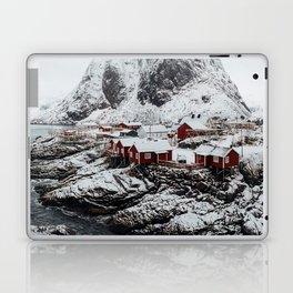 Mountain Village In Norway Laptop & iPad Skin