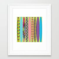 surfing Framed Art Prints featuring Surfing? by DesignsByMarly