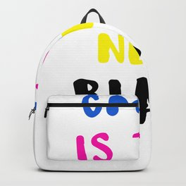 Graphic Artist CMYK Is the New Black Backpack