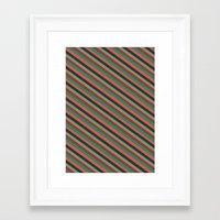 preppy Framed Art Prints featuring Preppy by Farnell