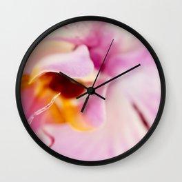 Orchid Kiss Wall Clock