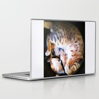emma watson Laptop & iPad Skins featuring Watson by Probably Plaid