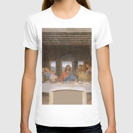 "Leonardo da Vinci ""The last supper"" T-shirt"