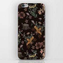 Forest Elements iPhone Skin