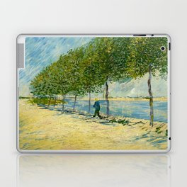 Vincent Van Gogh - Along the Seine Laptop & iPad Skin