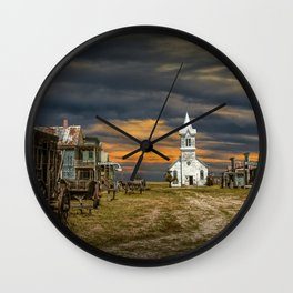 Western 1880 Town Wall Clock