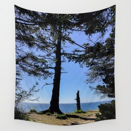Life Stages of a Tree Wall Tapestry