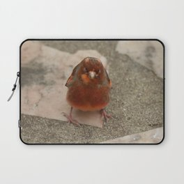 Cute runaway canary bird Laptop Sleeve