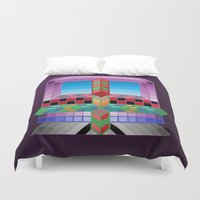 totem Duvet Covers featuring Totem by Turul