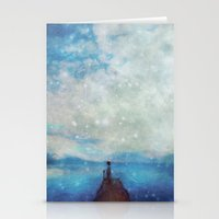 sleep Stationery Cards featuring Sleep by  Maʁϟ