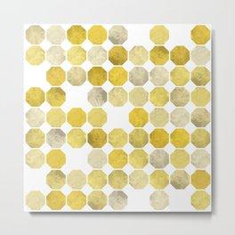 Octagonal Pattern Metal Print