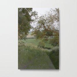 The English Countryside Fine Art Photography Metal Print