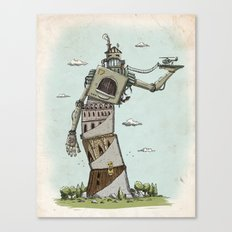 Crooked Canvas Print