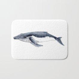 Humpback whale (Megaptera novaeangliae) Bath Mat