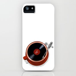 Java Jazz iPhone Case