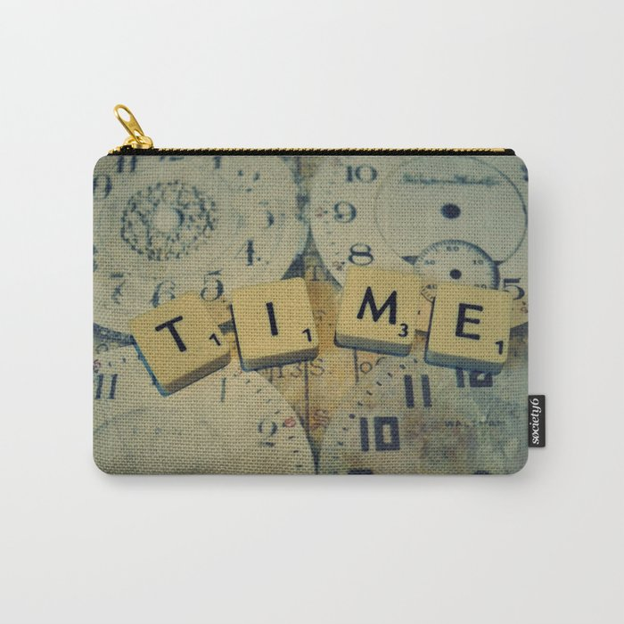Time goes and goes Carry-All Pouch