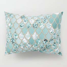 Mermaid Glitter Scales #3 #shiny #decor #art #society6 Pillow Sham