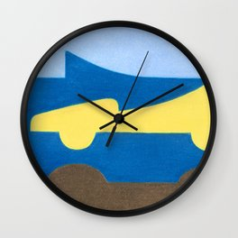 The Nose Wall Clock