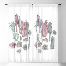 Desert Plants Blackout Curtain