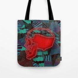 Sweet Spot Glow Skull Tote Bag