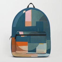Train Wheel Backpack