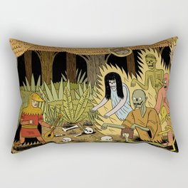 The Woodland Ghosts Rectangular Pillow