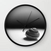 fibonacci Wall Clocks featuring Fibonacci  by OmaPRINTS