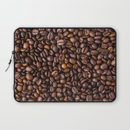 Coffee Bean Scene Laptop Sleeve