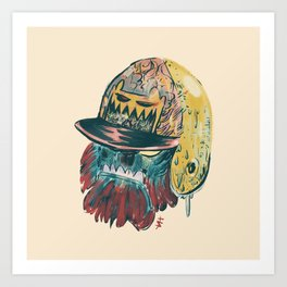 Mush - Phantom Borough Sluggers Art Print