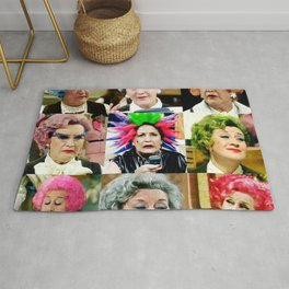 The Faces of Slocombe Rug