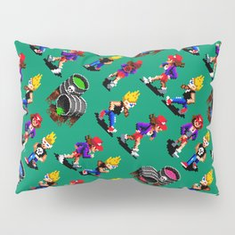 Zombies Ate My Neighbors | green || retrogaming vintage Pillow Sham