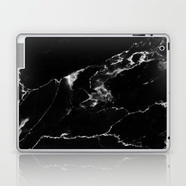 Black Marble I Laptop & iPad Skin