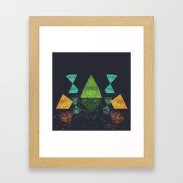 Light Temple Framed Art Print