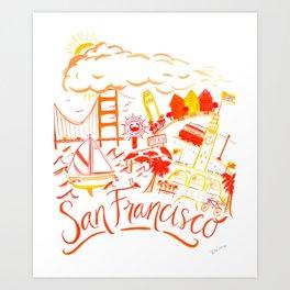 City of San Francisco Art Print