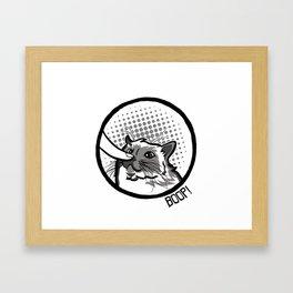 Boop Cat  Framed Art Print