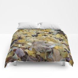 ginkgo gold Comforters
