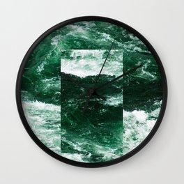 Constant River Wall Clock