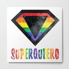 SuperQueero Hero s6001 Metal Print