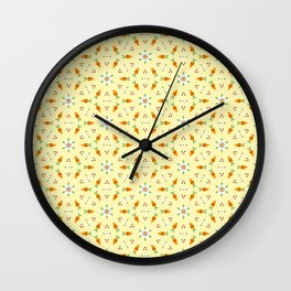 Carrot karat gold Wall Clock