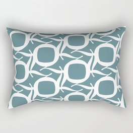 Baskerville Q Pattern Rectangular Pillow