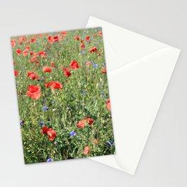 poppy flower no5 Stationery Cards