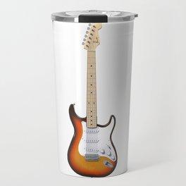 Sunburst Electric Guitar Travel Mug