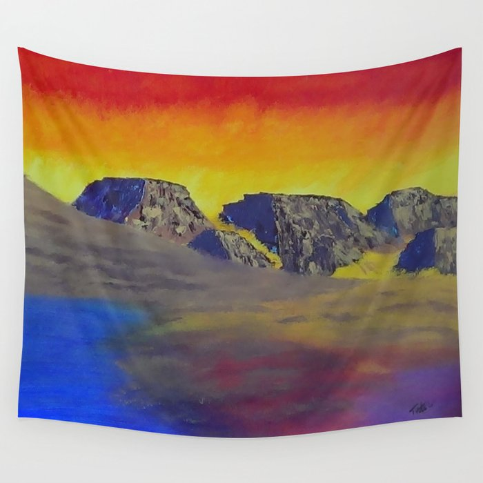 Mirage  Wall Tapestry