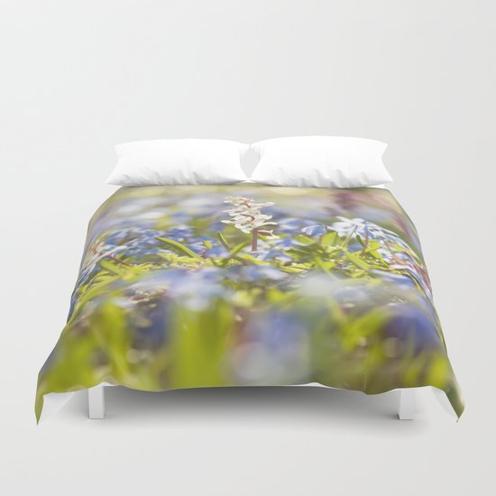 Spring flower meadow Duvet Cover