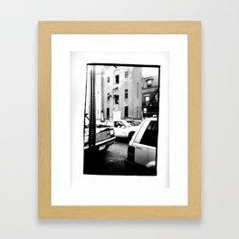 Clinton Hill, Brooklyn - New York  /   date: Oct 1995   Framed Art Print