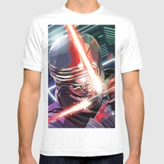 SW#70 White Mens Fitted Tee MEDIUM