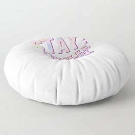 Struggling People Awareness Inspiring Quote Tee Shirt Gift | Cute Motivational Support Saying Men Floor Pillow