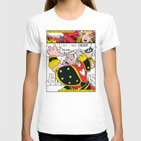 lichtenstein T-shirts featuring Leeeeee-ROY Lichtenstein!!! by Oubliette