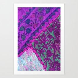 texture /pink  Art Print
